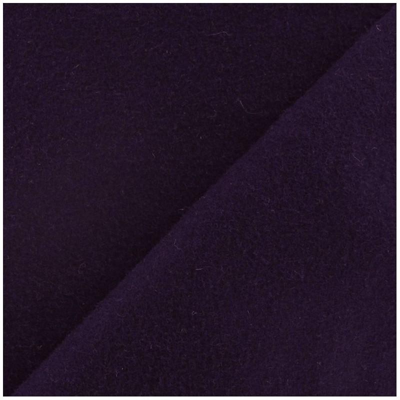 Tissu drap de laine encre violette x 10cm ma petite mercerie - Tissu pour drap ...