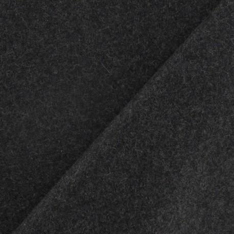 Wool fabric - grey x 10cm