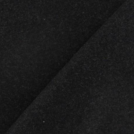 Wool fabric - anthracite grey x 10cm