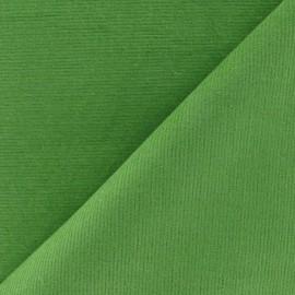 Milleraies elastane velvet fabric  - moss x10cm