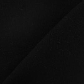 Tissu cachemire noir x 10cm