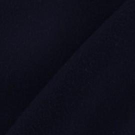 Tissu cachemire bleu nuit x 10cm