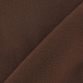 Tissu cachemire brun tabac x 10cm