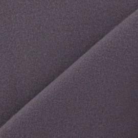 Tissu cachemire gris de lin foncé x 10cm
