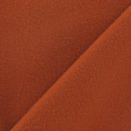 Tissu cachemire auburn x 10cm