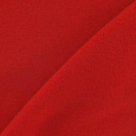 Tissu cachemire rouge x 10cm