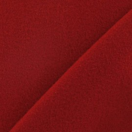 ♥ Coupon 140 cm X 150 cm ♥  fabric - red carmine