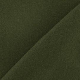 Tissu cachemire vert militaire x 10cm