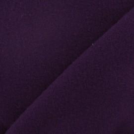 Tissu cachemire aubergine x 10cm