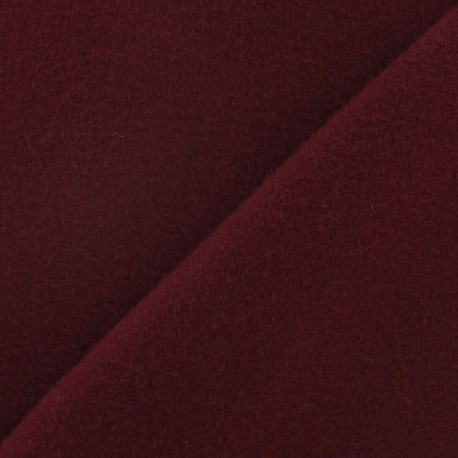 Kashmir fabric - purplish red x 10cm