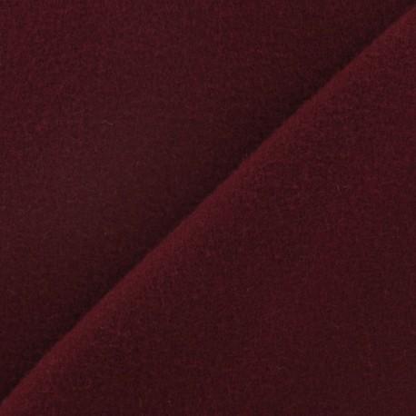 Tissu cachemire pourpre x 10cm