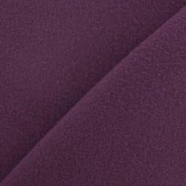 Tissu cachemire violet x 10cm