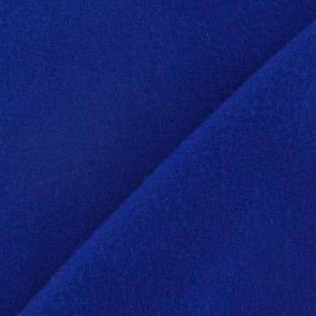 Kashmir fabric - royal blue x 10cm