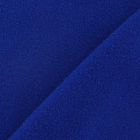 Tissu cachemire bleu roy x 10cm