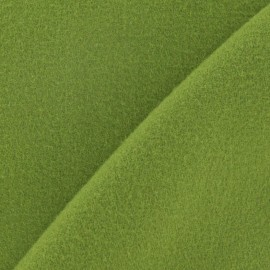 Kashmir fabric - lime green x 10cm