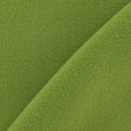 Tissu cachemire vert anis x 10cm
