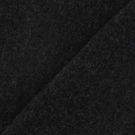 Kashmir fabric - dark grey x 10cm