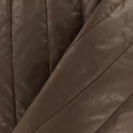 Tissu doublure matelassée effet léopard mordorée x 10cm
