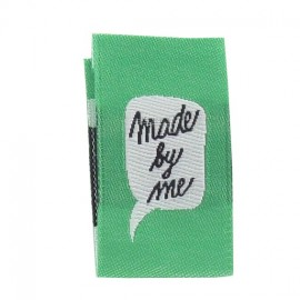 "Label ""Made by me"" to fold - green"