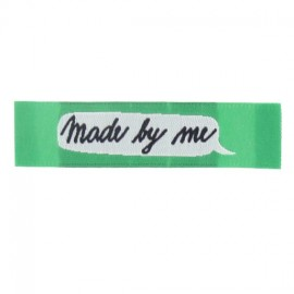 "Label ""Made by me"" - green"