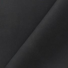 Simili cuir daim noir x 10cm