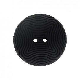 Bouton incurvé hypnose noir