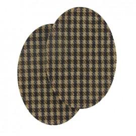 Coudière Genouillère macduff marron en lainage