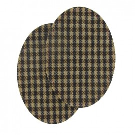 Woolen cloth elbow and knee patch macduff - brown
