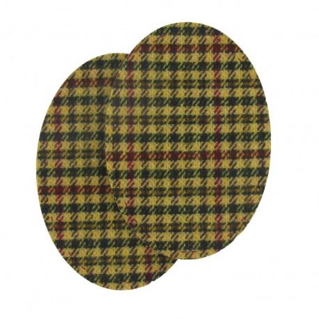 Coudière Genouillère macduff moutarde en lainage