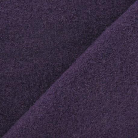 Laine bouillie encre violette x 10cm