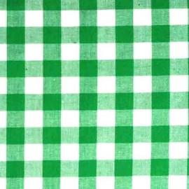 Vichy grands carreaux vert