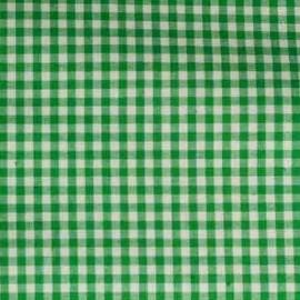 Vichy petits carreaux vert