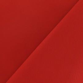 Cotton Gabardine Fabric - Red x 10cm