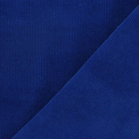 Milleraies velvet fabric - royal blue 300gr/ml x10cm