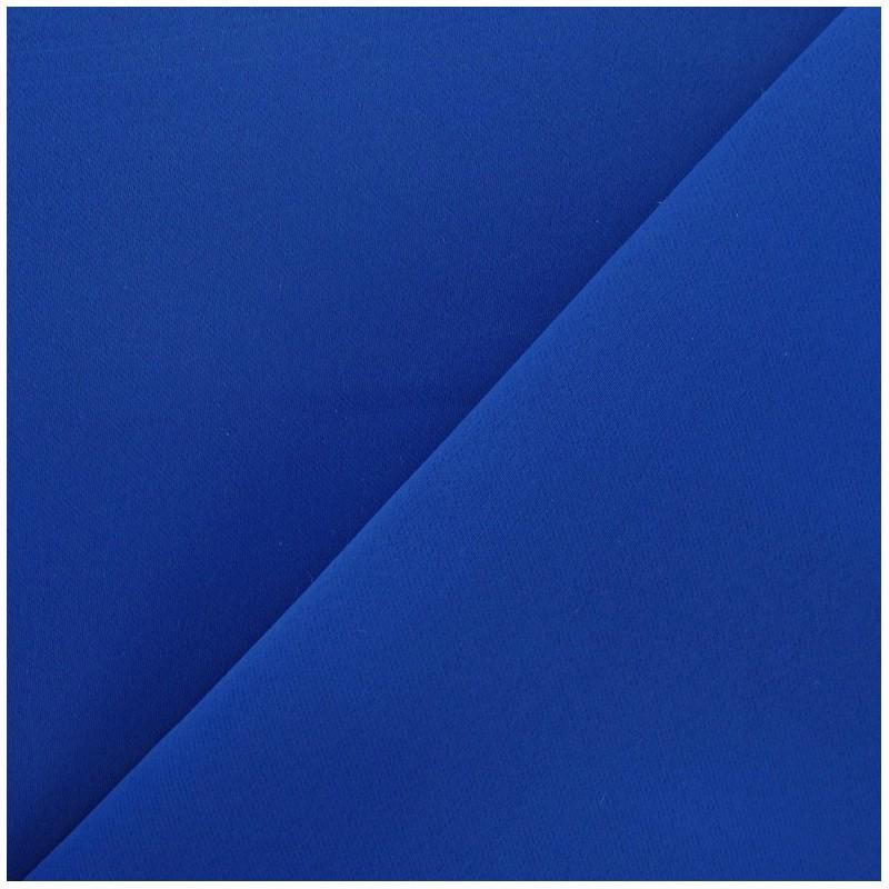 tissus pour rideaux tissu rideau occultant bleu roy. Black Bedroom Furniture Sets. Home Design Ideas