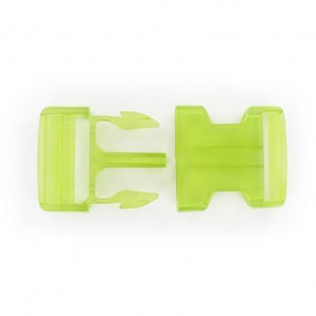 Attache Banane translucide vert anis