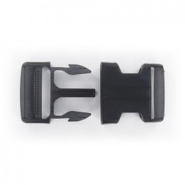 Side release buckle - black translucent