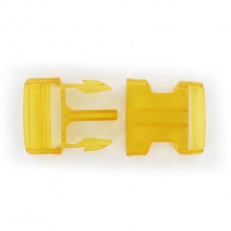Attache Banane translucide jaune