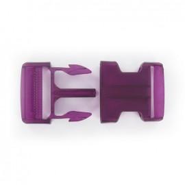 Boucle Banane translucide violette