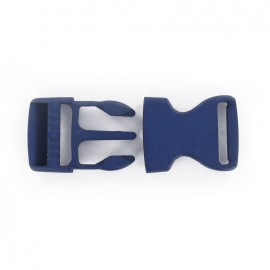 Side release buckle - navy blue