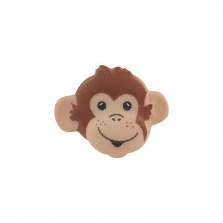 Bouton Tête de singe chair