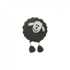 Bouton Mouton kaki