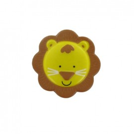 Bouton polyester sweet animals Lion