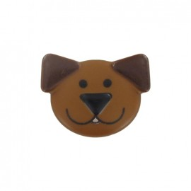 Bouton polyester sweet animals Chien