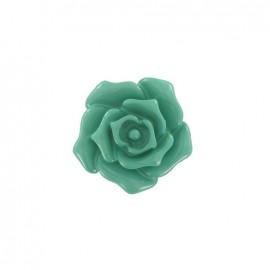 Bouton fleur rose opaline