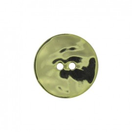 Mother-of-Pearl button, metallic - pistachio