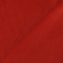 Short velvet fabric - red x 10cm