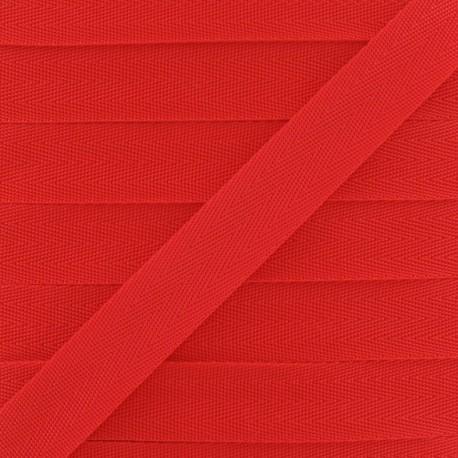 Sangle Polypropylène 25 mm Rouge