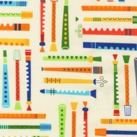 Tissu Jazz between friends Adventure x 10 cm