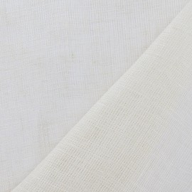 Tissu Wilmo etamine lin crème x 10cm